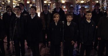 Paris, le 6 decembre 2009 : la Saint Nicolas fetee a la Maison de l'Alsace