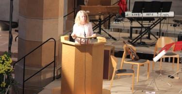 Photo 24   Les béatitudes, prédication de Mme le professeur Madeleine Wieger